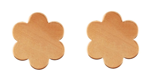 Copper Blossom Blanks x 2