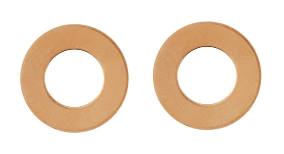 Copper Ring or Washer Blanks x 2