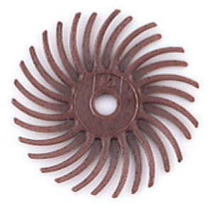 Disc. Radial Bristle Red x 2 Grit. 220