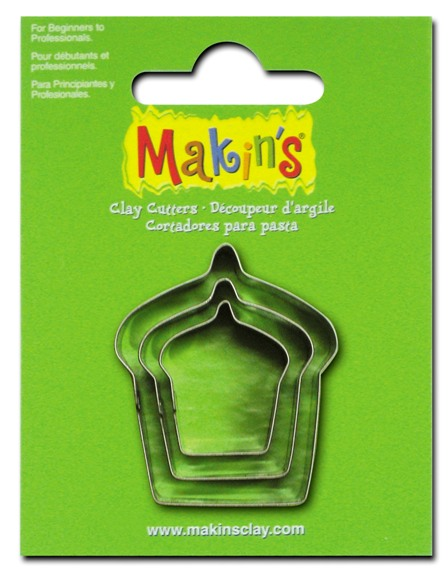 Makins Cake Cutters Set of 3
