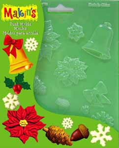 Push Mould - Christmas Nature