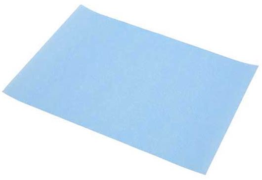 3M polishing paper in 1200 grit (blue)