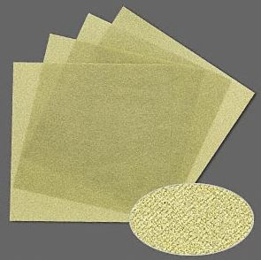 3M polishing paper in 400 grit (green) x 4 sheet
