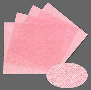 3M polishing paper in 4000 grit (pink) x 4 Sheets