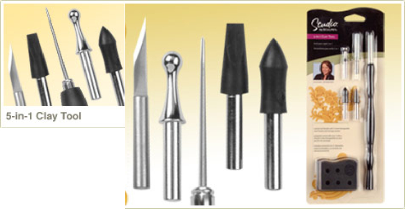 Sculpey - 5 in 1 Clay Tool