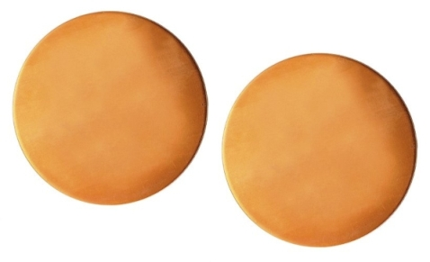 Copper Round - Disc Blanks x 2 Small