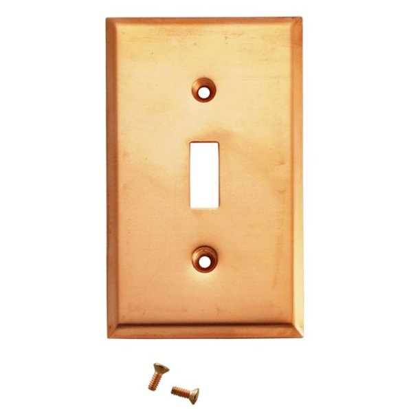 Copper Blank Switch Plates