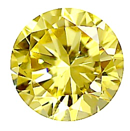 6mm Citrine Round CZ Faceted