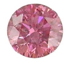 6mm Pink Round CZ Faceted