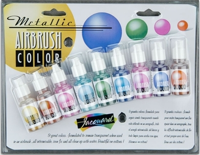 Airbrush Colour Exciter Set - Metallic
