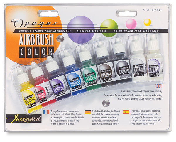 Airbrush Colour Exciter Set - Opaque