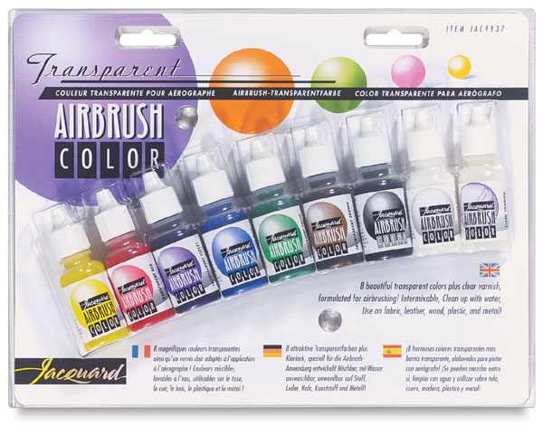 Airbrush Colour Exciter Set - Transparent