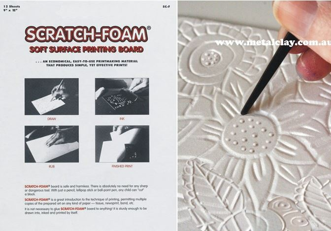 AMAZING! SCRATCH FOAM 12 SHEETS