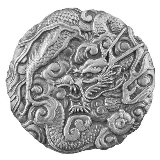 Antique Mould - Oriental Dragon Large