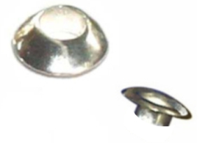 Bali Sterling Silver Domed Rivets 1 Pair