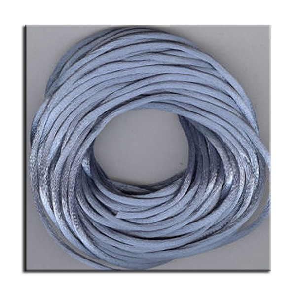 Kumihimo Satin Cord 2mm Williamsburg Blue