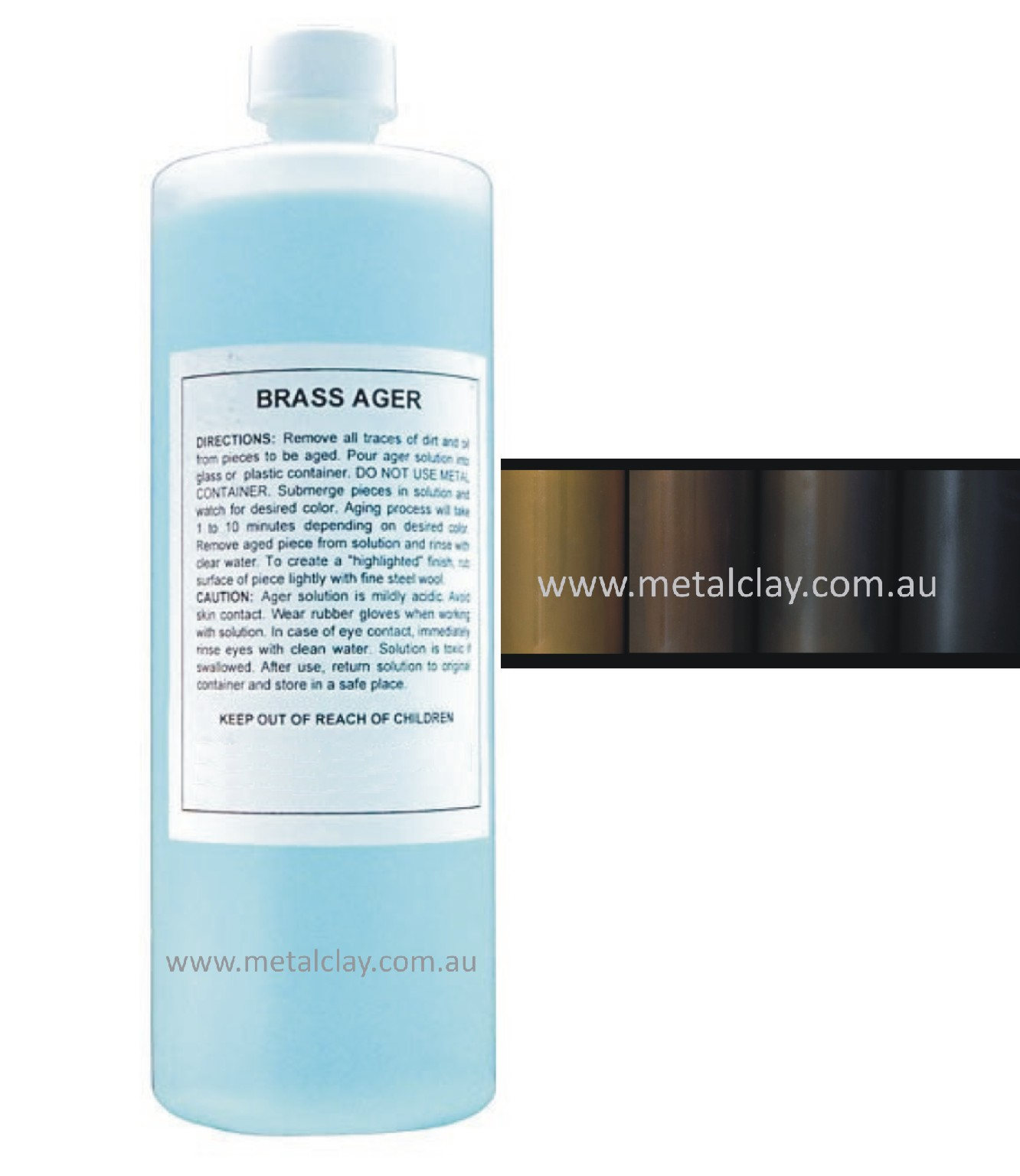 Brass Ageing Solution 500ml