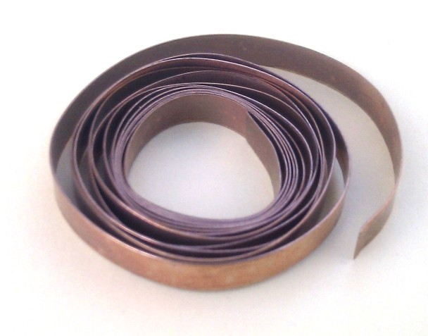 Bronze Flat Bezel Wire 4mm
