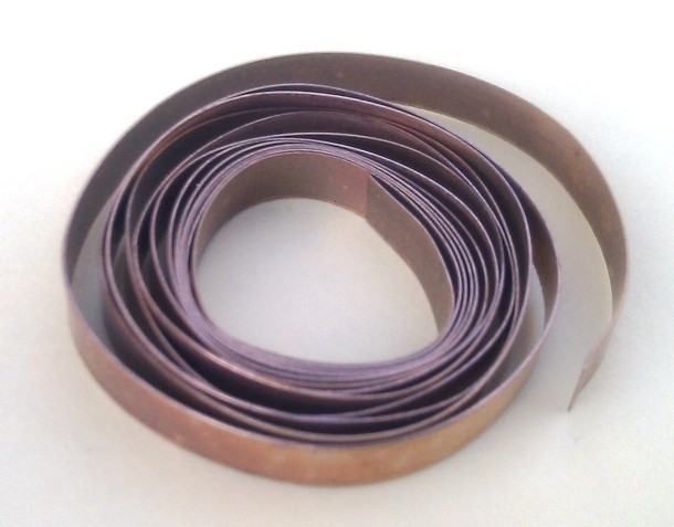 Bronze Flat Bezel Wire 5mm