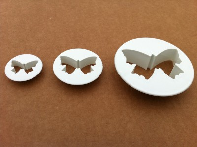 Cutters Set Butterflys 3-pieces