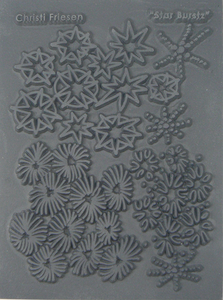 Star Burstz Texture Stamp by Christie Freisen