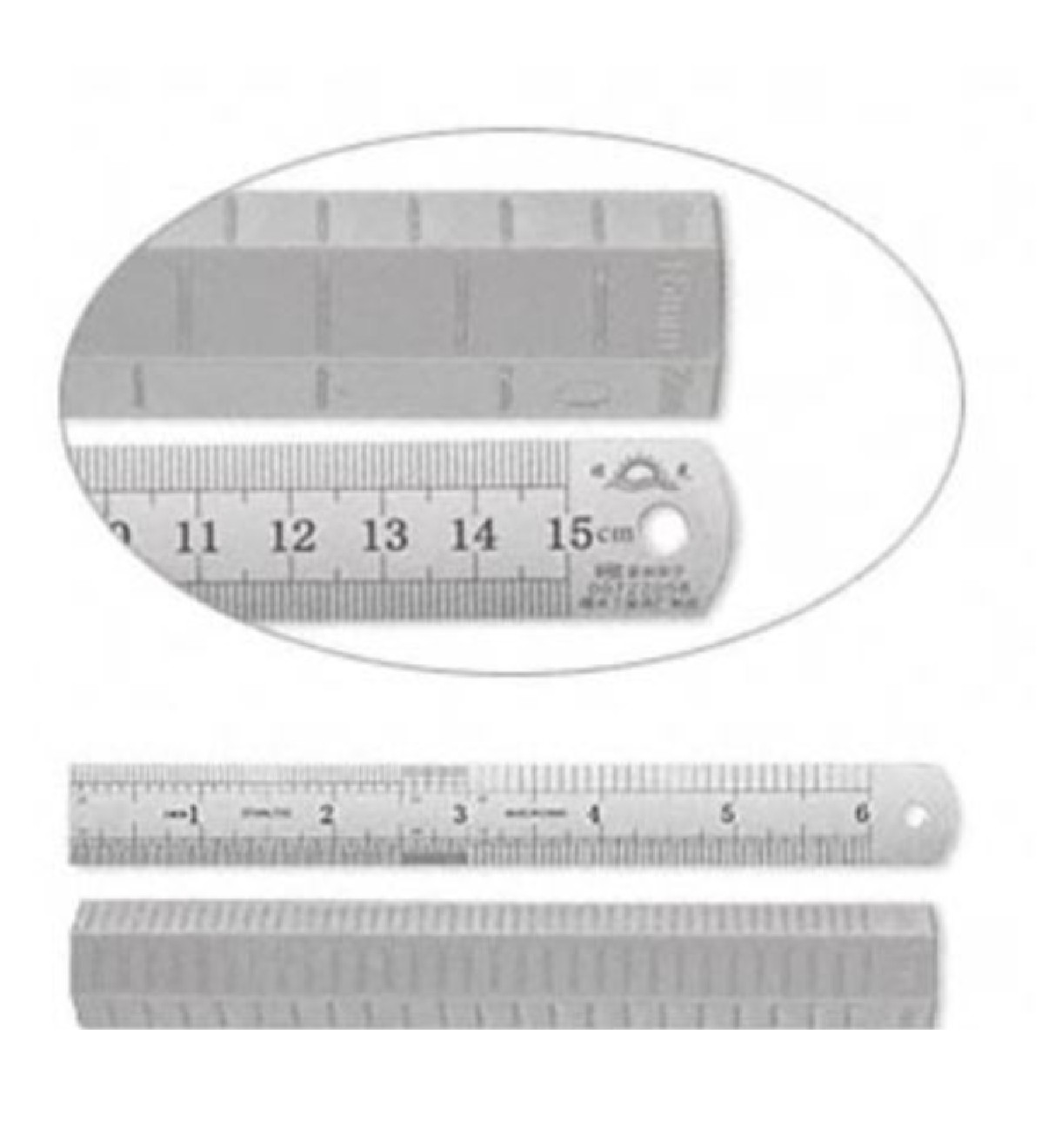 Ruler and Clay Measurement Roller Set