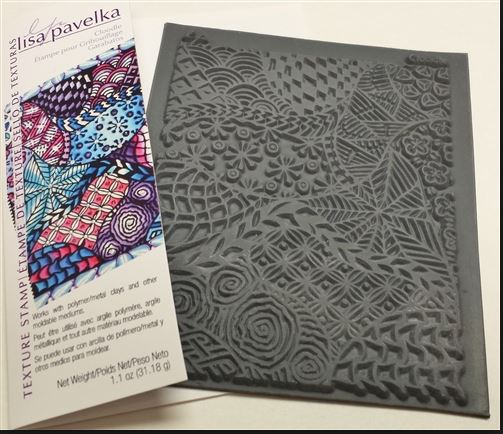 Cloodle Texture Stamp by Lisa Pavelka