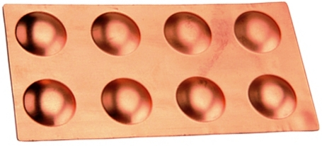 Copper Drying Form - Round Medium