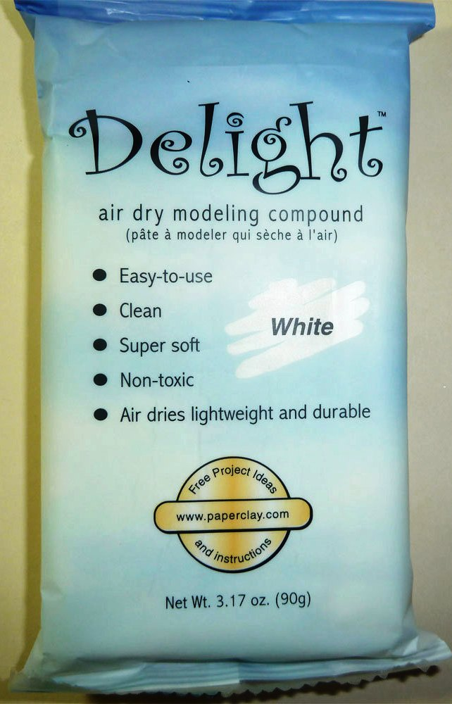 Delight Air Dry Modelling Clay 90g