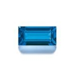 5x3 Emerald Cut Faceted Aquamarine