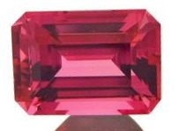 7x5 Emerald Cut Faceted Garnet.