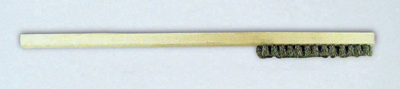 Stainless Steel Brush - Short Bristles