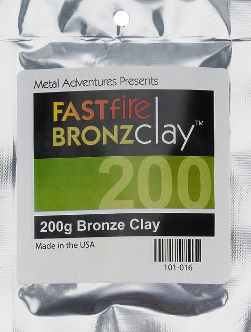 FASTfire BRONZclay 200grams