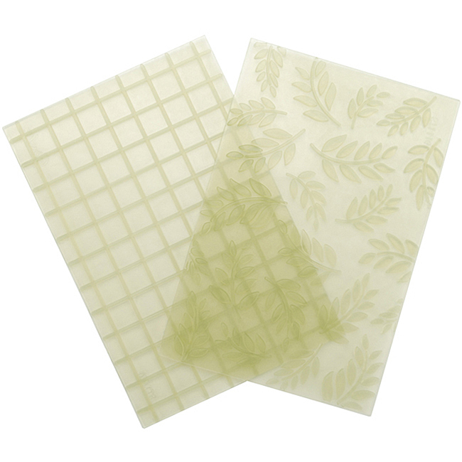Studio™ by Sculpey® Ferns and Squares Texture Sheets x 2