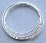 Fine Silver Round Wire - 1.02mm x 30.48cm (1ft)