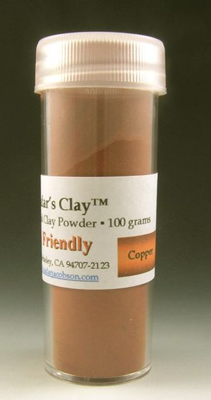 Hadar's Clay™ Friendly Copper 100grams NEW One Phase Fire