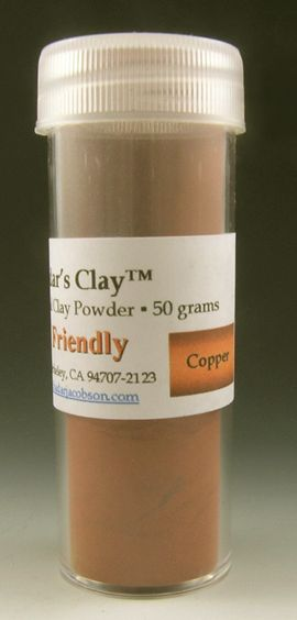 Hadar's Clay™ Friendly Copper 50 grams NEW One Phase Fire