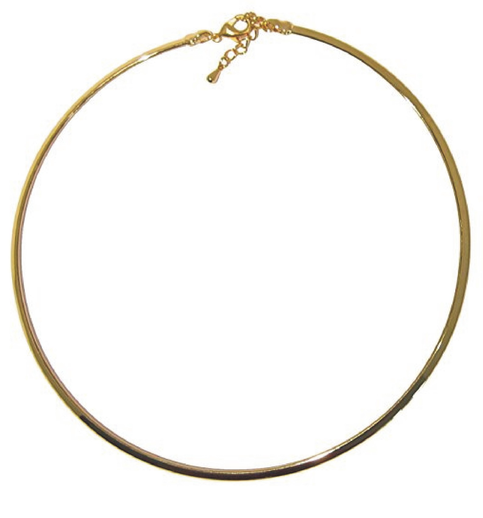 Gold Plated Brass Neck Wire Choker