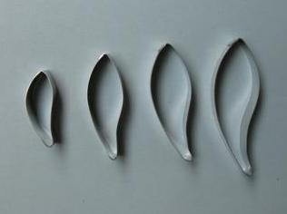 Gum Leaf Cutter Set of 4