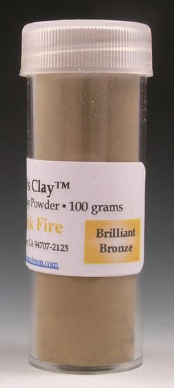 Hadar's Clay™ Quick Fire Brilliant Bronze 100grams