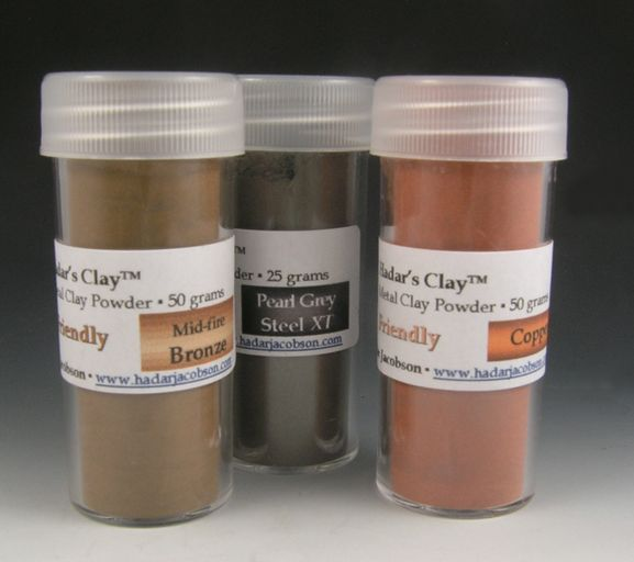 Hadar's Clay™ One-fire MOKUME GANE Sampler NEW