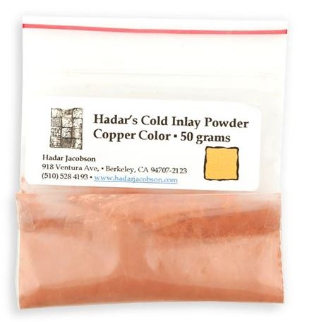 Hadars Cold Inlay Powder COPPER