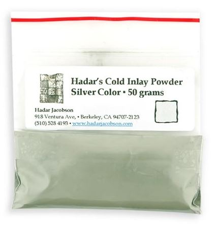 Hadars Cold Inlay Powder SILVER