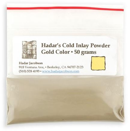 Hadars Cold Inlay Powder GOLD