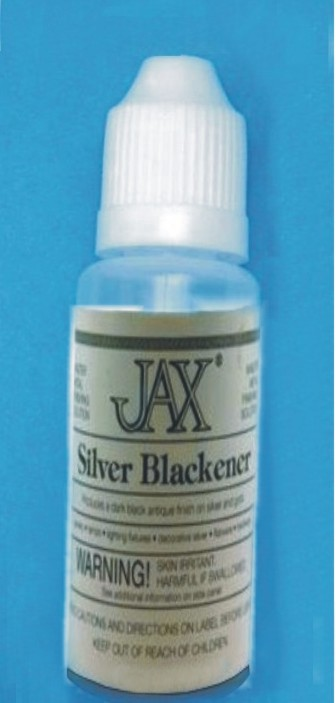JAX Silver Blackening Oxidisation Solution