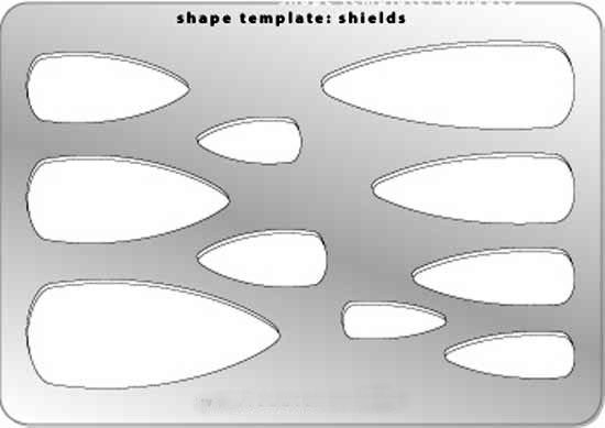 Template - Shield Shapes