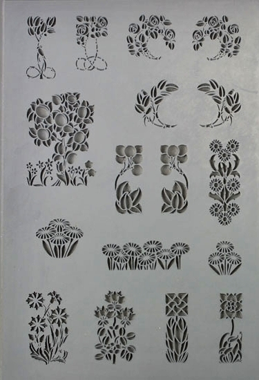 Florals Element Texture Sheet - Large