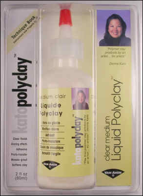 Kato Clear Medium Liquid Polyclay 46ml