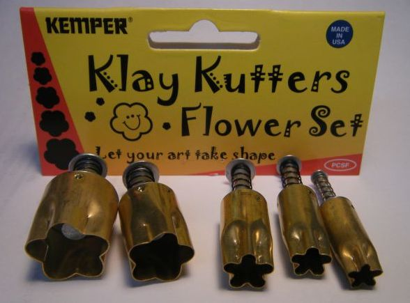 Kemper Flower Pattern Cutters Set of 5