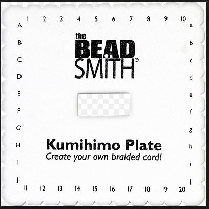 Kumihimo Braiding Disk Square [KD601] - $5.97 : Metal Clay, For All ...
